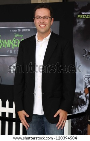 "Jared Fogle at the ""Frankenweenie"" Los Angeles Premiere, El Capitan Theater, Hollywood, CA 09-24-12"