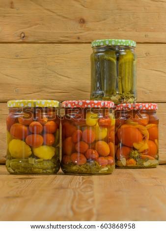 pickled vegetables stock images royalty free images vectors shutterstock. Black Bedroom Furniture Sets. Home Design Ideas
