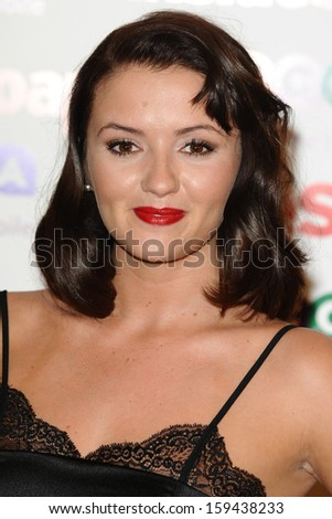 Jasmyn Banks arriving for the 2013 Inside Soap Awards, at the Ministry Of Sound, London. 21/10/2013