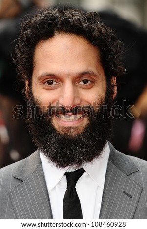 "Jason Mantzoukas arriving for the premiere of ""The Dictator"" at the Royal Festival Hall, South Bank , London. 10/05/2012 Picture by: Steve Vas / Featureflash"
