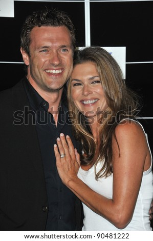 Jason O'Mara & wife Paige Turco at the Fox TV Summer 2011 All-Star Party at Gladstones Restaurant, Malibu. August 5, 2011  Malibu, CA Picture: Paul Smith / Featureflash - stock photo