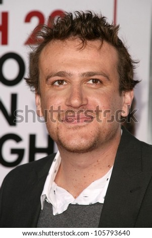 Jason Segel  at the Los Angeles Premiere of 'I Love You, Man'. Mann's Village Theater, Westwood, CA. 03-17-09