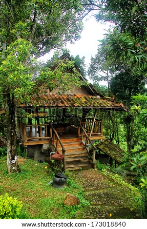 Java traditional house