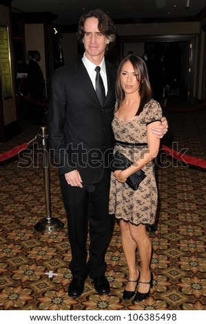 Jay Roach and Susanna Hoffs at the 61st Annual DGA Awards. Hyatt Regency Century Plaza, Los Angeles, CA. 01-31-09