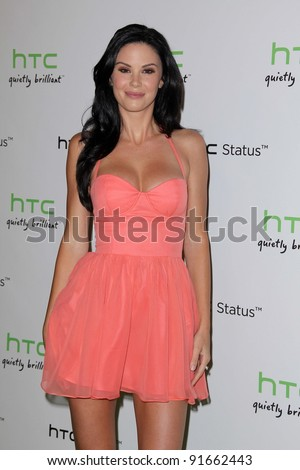 Jayde Nicole at the HTC Status Social, Paramount Studios, Hollywood, CA. 07-19-11