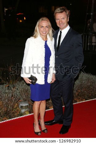 Jayne Torvill and Christopher Dean arriving for the Night of Heroes: The Sun Military Awards 2012 held at the Imperial War Museum, london, 06/12/2012 Picture by: Henry Harris - stock photo