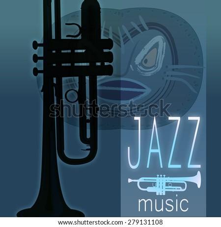 Jazz music - stock photo