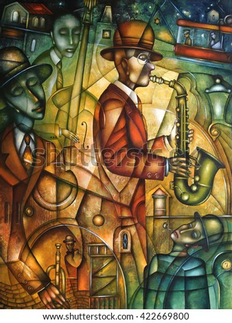 Jazz music players