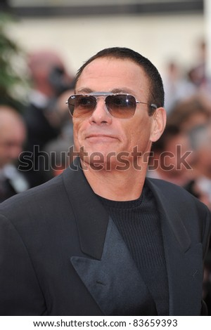 "Jean-Claude Van Damme & date  at the premiere of ""Robin Hood"" the opening film at the 63rd Festival de Cannes. May 12, 2010  Cannes, France Picture: Paul Smith / Featureflash"