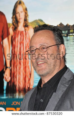 "Jean Reno at the American premiere of his new movie ""Couples Retreat"" at Mann's Village Theatre, Westwood. October 5, 2009  Los Angeles, CA Picture: Paul Smith / Featureflash"