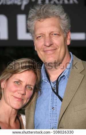"Jeanne Johnson and Clancy Brown  at the World Premiere of ""Wall E"". Greek Theatre, Hollywood, CA. 06-21-08"