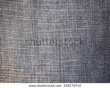jeans backgrounds color objects - stock photo