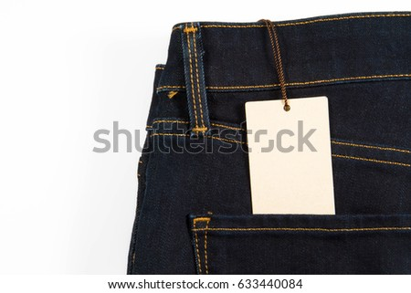 Jeans, clothes, trousers, material, purchase, label