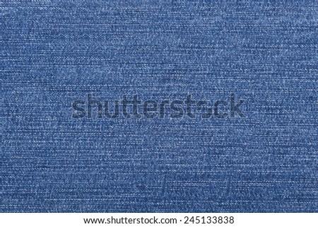 Jeans texture - stock photo