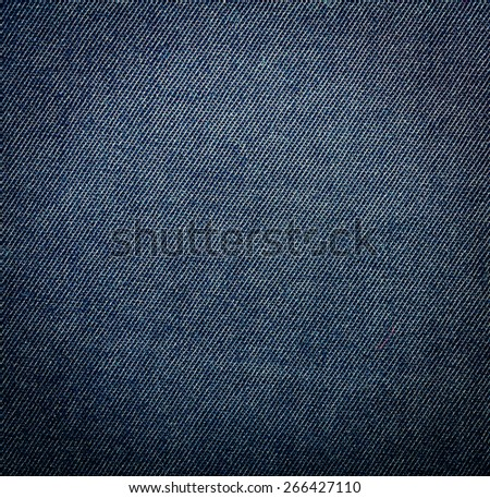 Jeans texture. Clothes background. Close up - stock photo