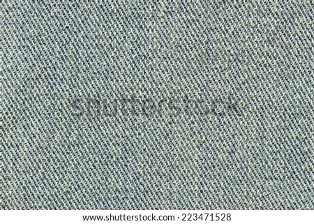 Jeans texture for pattern and background - stock photo
