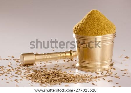Jeera Powder. - stock photo