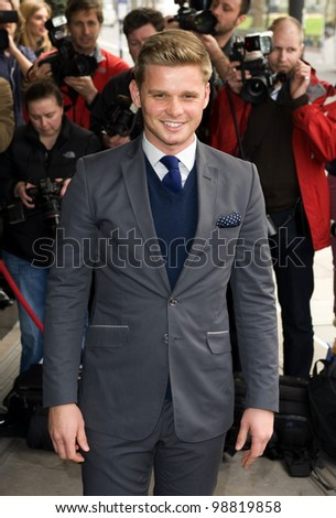 Jeff Brazier arriving for the TRIC Awards 2012, at the Grosvenor House Hotel, London. 13/03/2012 Picture by: Simon Burchell / Featureflash