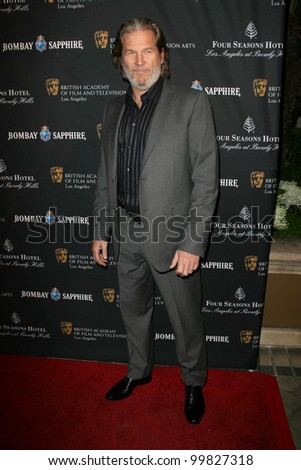 Jeff Bridges at the BAFTA Los Angeles' 17th Annual Awards Season Tea Party, Four Seasons Hotel, Beverly Hills, CA. 01-15-11 - stock photo