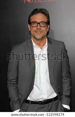 "Jeffrey Dean Morgan at the ""The Possession"" Los Angeles Premiere, Arclight, Hollywood, CA 08-28-12 - stock photo"