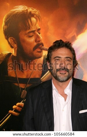 Jeffrey Dean Morgan at the U.S. Premiere of 'Watchmen'. Grauman's Chinese Theatre, Hollywood, CA. 03-02-09 - stock photo