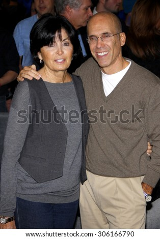 Jeffrey Katzenberg and Marilyn Katzenberg at the Los Angeles premiere of 'Megamind' held at the Hollywood and Highland in Hollywood, USA on October 30, 2010.