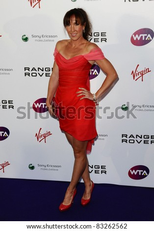 Jelena Jankovic arriving for the Pre Wimbledon Party, Kensington Roof Gardens, London. 16/07/2011  Picture by: Alexandra Glen / Featureflash
