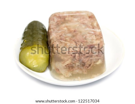 jellied meat aspic