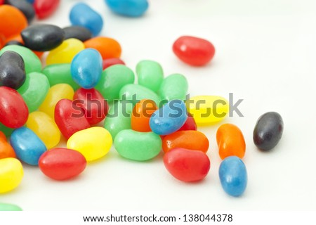 Jelly Beans - stock photo