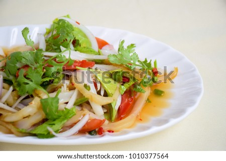 Jelly Fish Spicy Salad