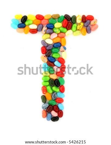 jellybean T - stock photo