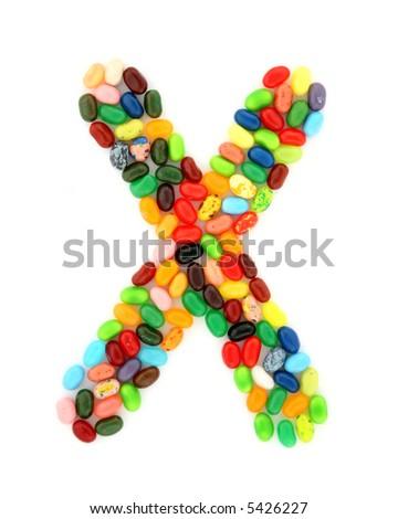 jellybean X - stock photo
