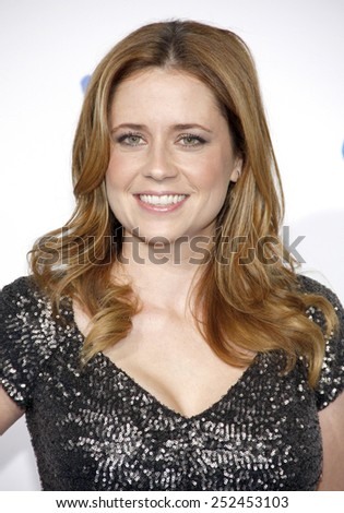Jenna Fischer at the 2nd Annual American Giving Awards held at the NPasadena Civic Auditorium in Los Angeles, California, United States on December 7, 2012.