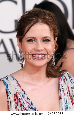 Jenna Fischer at the 66th Annual Golden Globe Awards. Beverly Hilton Hotel, Beverly Hills, CA. 01-11-09