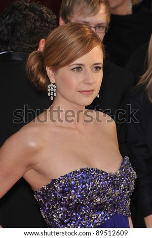 Jenna Fischer at the 16th Annual Screen Actors Guild Awards at the Shrine Auditorium. January 23, 2010  Los Angeles, CA Picture: Paul Smith / Featureflash