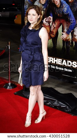 Jenna Fischer at the World premiere of 'Leatherheads' held at the Grauman's Chinese Theater in Hollywood, USA on March 31, 2008.