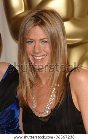 JENNIFER ANISTON at the 78th Annual Academy Awards at the Kodak Theatre in Hollywood. March 5, 2006  Los Angeles, CA  2006 Paul Smith / Featureflash - stock photo