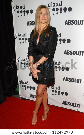 Jennifer Aniston at the 18th Annual GLAAD Media Awards. Kodak Theatre, Hollywood, CA. 04-14-07 - stock photo