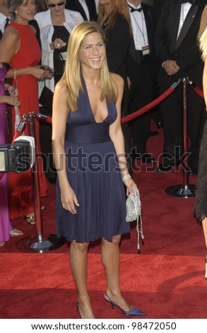JENNIFER ANISTON at the 55th Annual Primetime Emmy Awards in Los Angeles. Sept 21, 2003  Paul Smith / Featureflash - stock photo