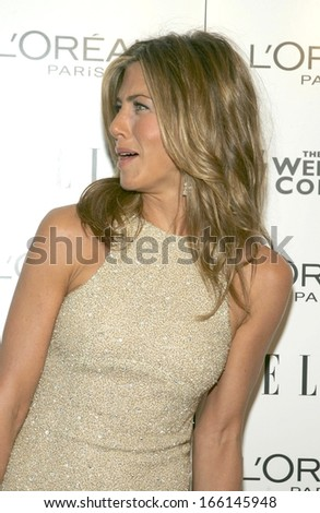 Jennifer Aniston, wearng a Chanel dress, at DERAILED Premiere by The Weinstein Company, Loews Lincoln Square Theater, New York, NY, October 30, 2005