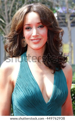 Jennifer Beals at the 2008 EMMY Creative Arts Awards held at the Nokia Theater in Los Angeles, USA on September 13, 2009.