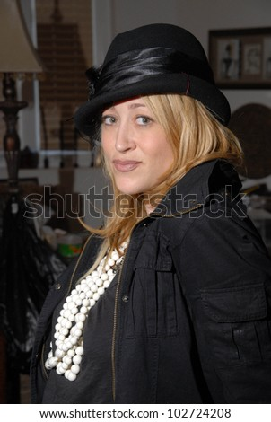 Jennifer Blanc  at a trunk show featuring Designs by Phoebe Price hats and Stella and Dot Jewelry by Jennifer Blanc, Private Location, Hollywood, CA. 03-14-10,
