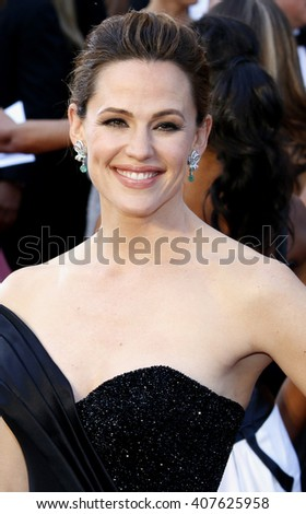 Jennifer Garner at the 88th Annual Academy Awards held at the Dolby Theatre in Hollywood, USA on February 28, 2016. - stock photo