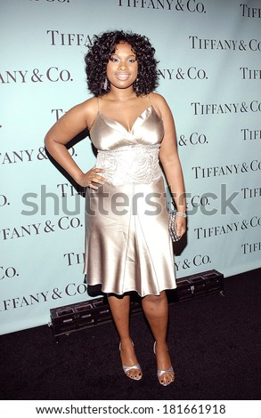 Jennifer Hudson at Launch of the Tiffany 2008 Blue Book Collection, America Museum of Natural History, New York, NY, October 27, 2007 - stock photo