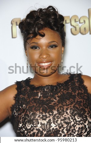 "Jennifer Hudson at the second annual ""A Fine Romance"" gala to benefit the Motion Picture & TV Fund, in Los Angeles. November 18, 2006  Los Angeles, CA Picture: Paul Smith / Featureflash"