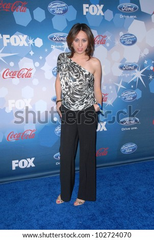 "Jennifer Leeser at Fox's ""American Idol"" Top 12 Finalists Party, Industry, West Hollywood, CA. 03-11-10"