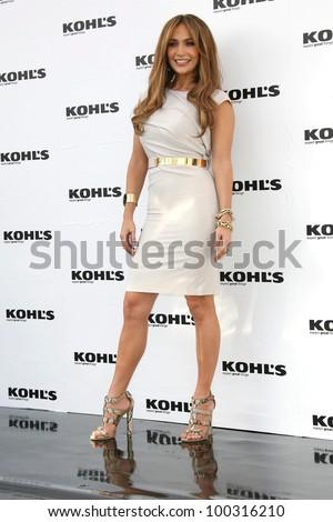 Jennifer Lopez at a Jennifer Lopez and Marc Anthony: Kohl's Press Conference, London, West Hollywood, CA. 11-17-10 - stock photo