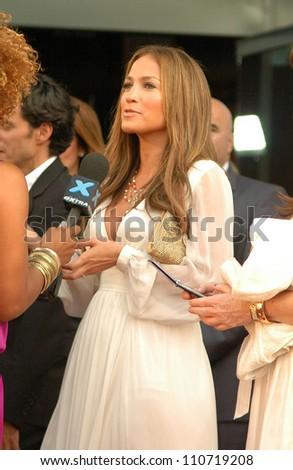 "Jennifer Lopez at the Los Angeles Premiere of ""El Cantante"". Director's Guild of America Theatre, Los Angeles, CA. 07-31-07 - stock photo"