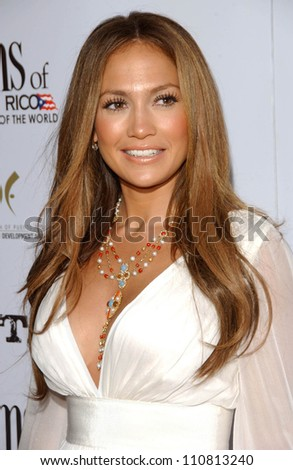 "Jennifer Lopez at the Los Angeles Premiere of ""El Cantante"". Director's Guild of America Theatre, Los Angeles, CA. 07-31-07 - stock photo"
