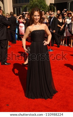 Jennifer Love Hewitt  arriving at the 59th Annual Primetime Emmy Awards. The Shrine Auditorium, Los Angeles, CA. 09-16-07